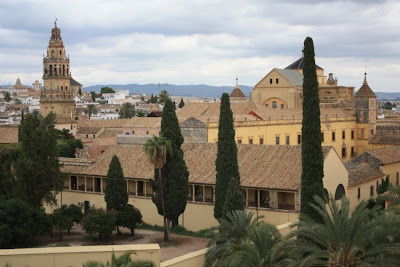 Mosque of Cordoba from the Alcazar