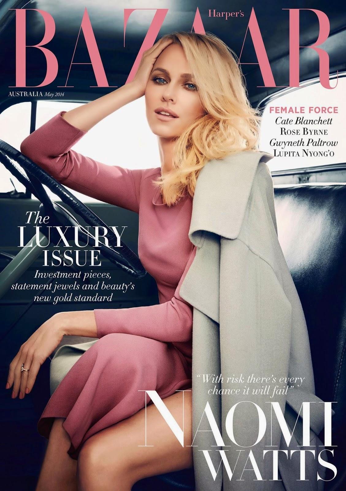Smartologie: Miranda Kerr for Harpers Bazaar Australia