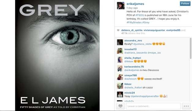 E.L James confirma nuevo libro de \'50 Sombras de Grey\' - Al Minuto