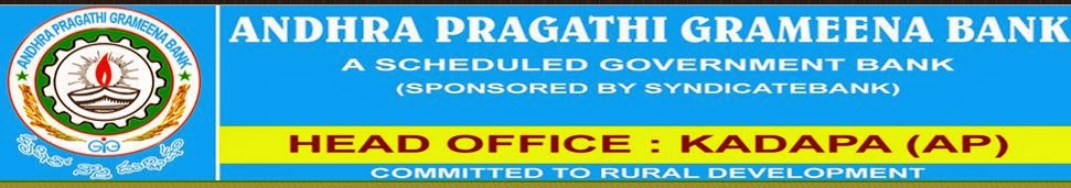 www.apgb.in Andhra Pragathi Grameena Bank Online Apply  for Officer & Office Recruitment 2017-2018