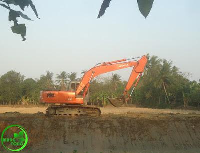 Normalisasi sungai Ciasem, Dusun Gardu...