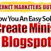 Download Minisite Blogspot Premium Quality