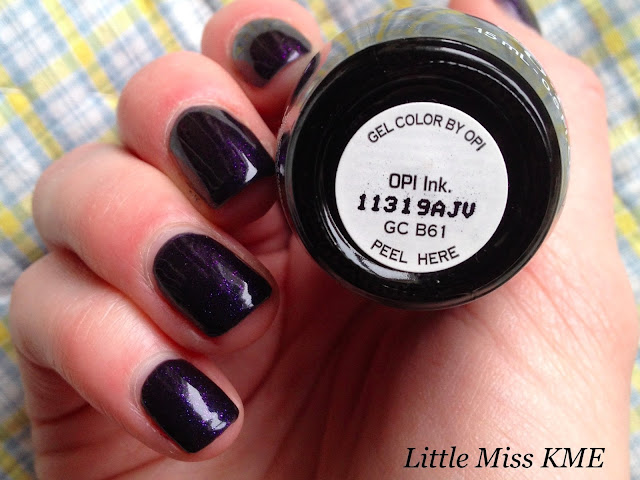 OPI Gel Color in natural light, OPI INK