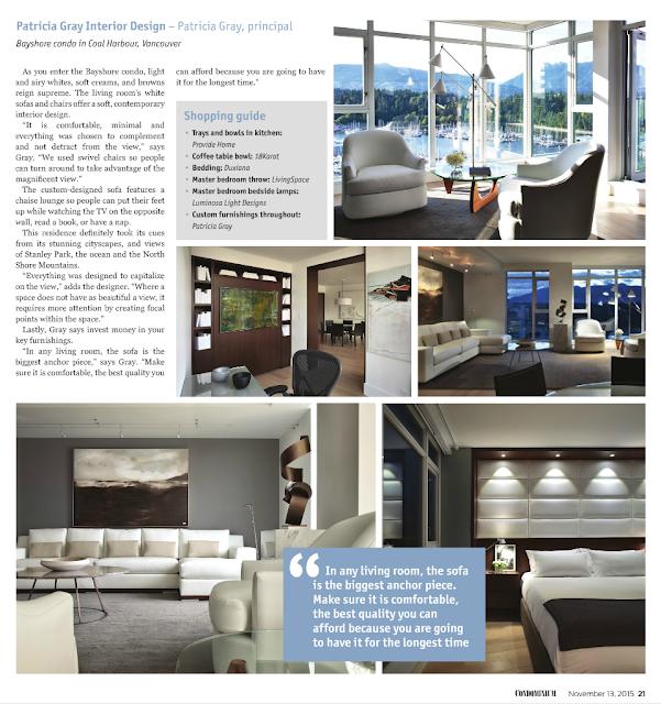 Custom Furniture Design Vancouver