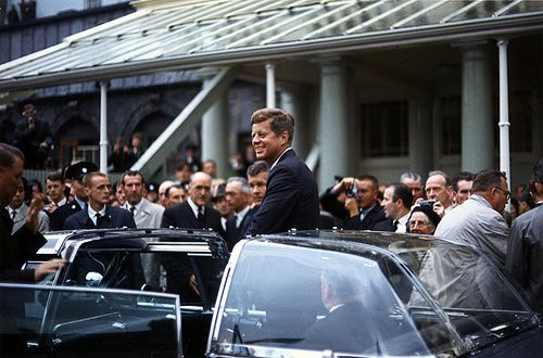 THE BUBBLETOP JFK SUPPOSEDLY DIDN'T LIKE- IRELAND SUMMER 1963-WHY THE SMILE?
