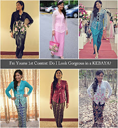 Contest | I'm Yourss 1st Contest: Do I Look Gorgeous In A Kebaya?