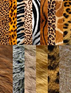 Текстуры шерсти животных