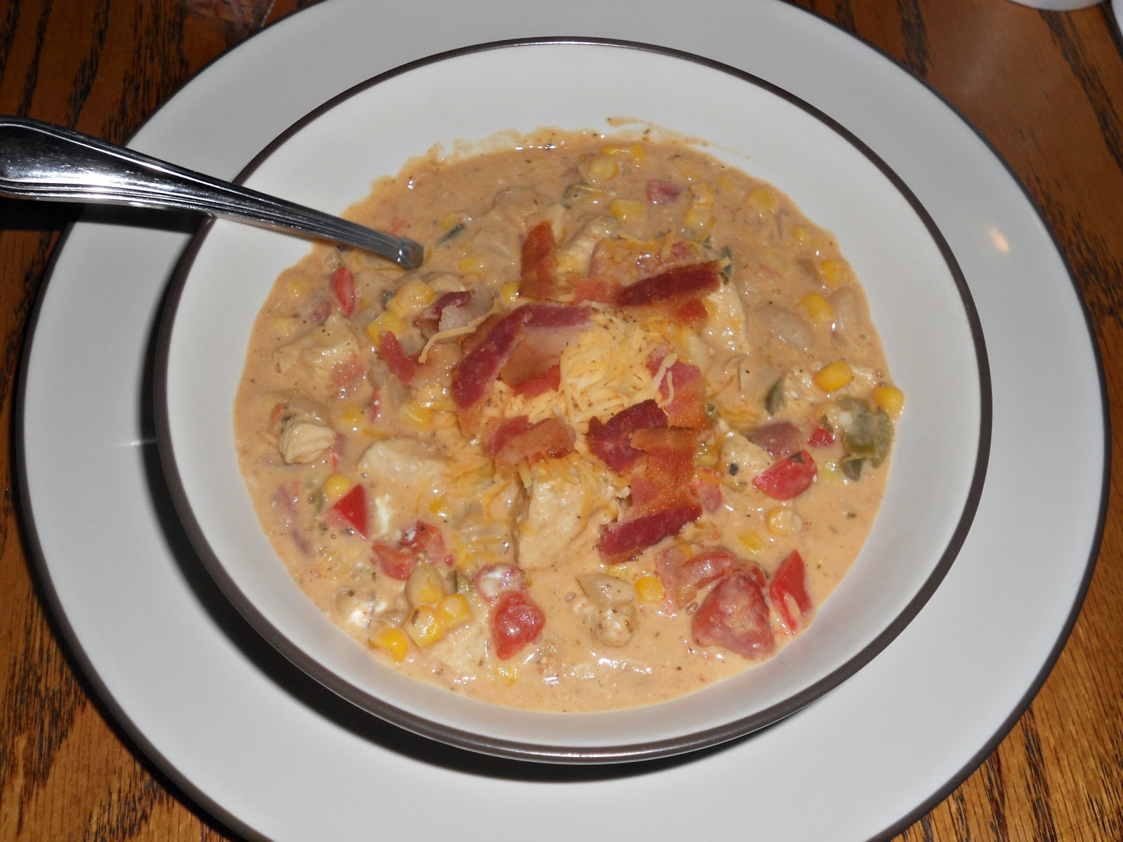 Jalapeno Popper Chicken Chili Soup Recipe — Dishmaps