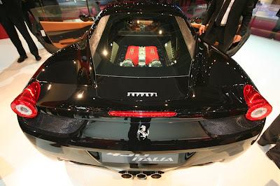 Ferrari 458 Italia moteur
