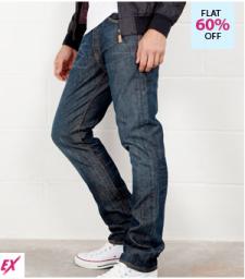 Buy Flat 54% on Levis Men's Slim Fit Jeans on Fashionandyou