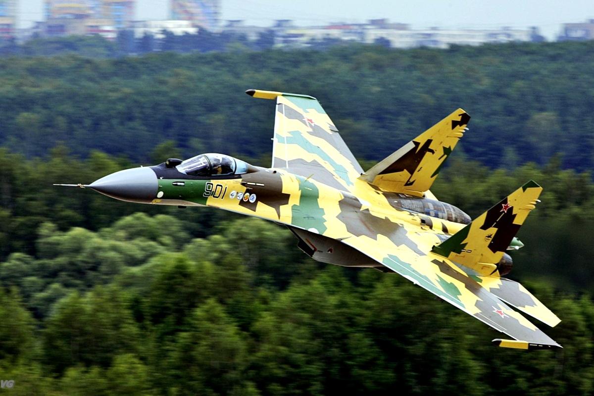 Sukhoi Su-35 Flanker-E Wallpaper 1