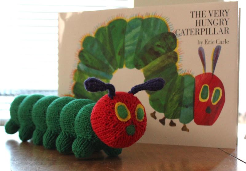 Hungry Caterpillar Baby Knitting Pattern : Desert Homemaker: A (Very) Hungry Caterpillar