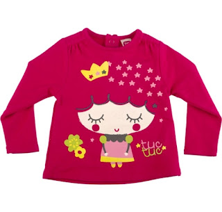 Tuc Tuc Girls Fuchsia Top - Kingdom