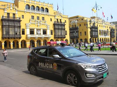 Seguridad en Lima, Perú, La vuelta al mundo de Asun y Ricardo, round the world, mundoporlibre.com