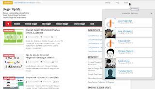 Cara Membuat Notifikasi Komentar Di Blogger Seperti Google Plus