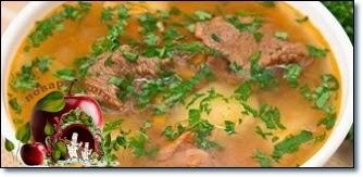 Суп пряный из баранины с баклажанами в мультиварке