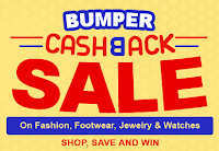 Buy Fashion, footwear, jewelry and watches at upto 90% off + 50% cashback at Shopclues