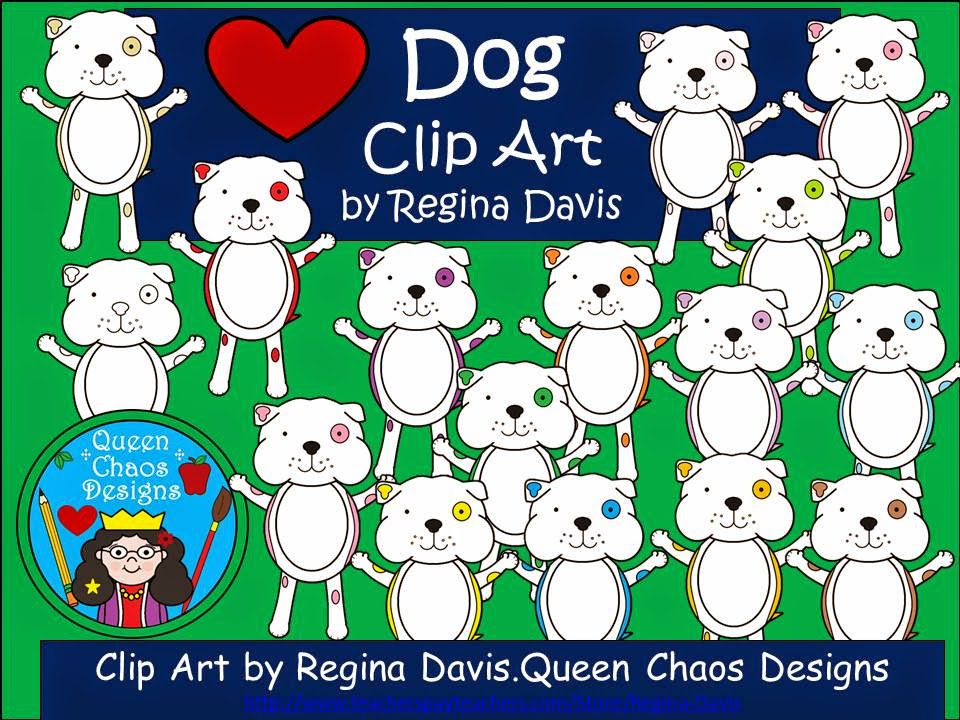 http://www.teacherspayteachers.com/Product/A-Dog-With-Spots-Clip-Art-1167376
