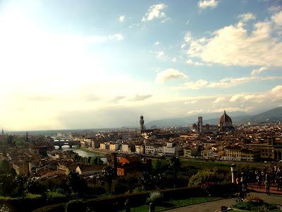 Firenze vista dall'alto