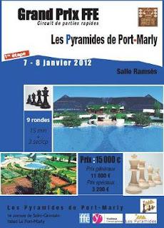Grand Prix d'Echecs FFE à Port-Marly