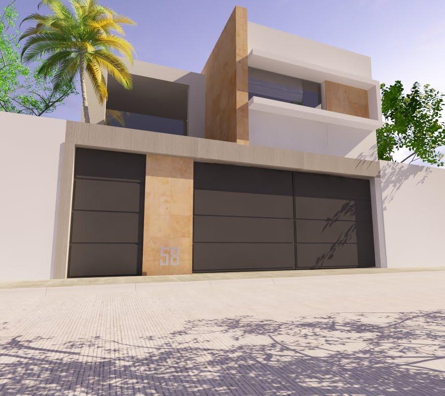 Proyectos arquitectonicos y dise o 3 d propuestas de for Proyectos casas minimalistas