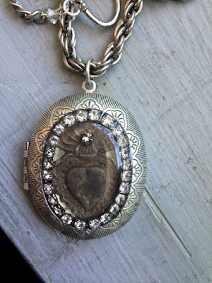 Antique milagro locket by The Pickled Hutch