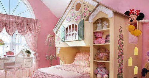 Dormitorio casita de mu - Camas en forma de casa ...