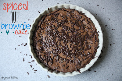 Spiced Nut Brownie Cake from www.anyonita-nibbles.com