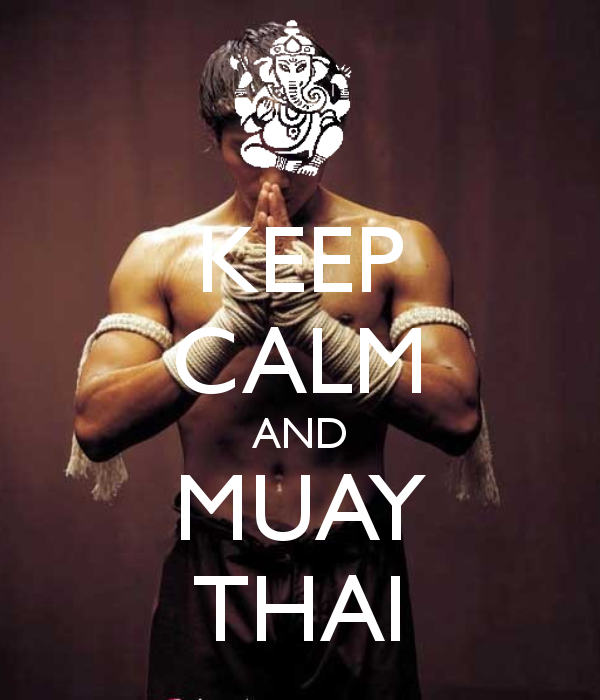 Keep Calm and Muay Thai
