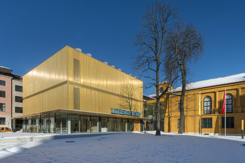The Lenbacchaus Gallery and Museum in Munich, Germany,