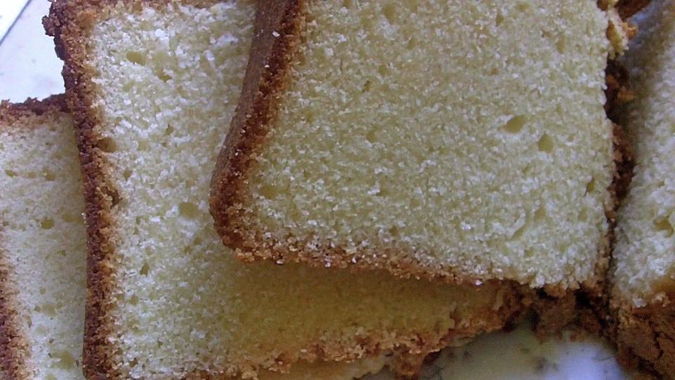 Grandma Hands Cream Cheese Pound Cake