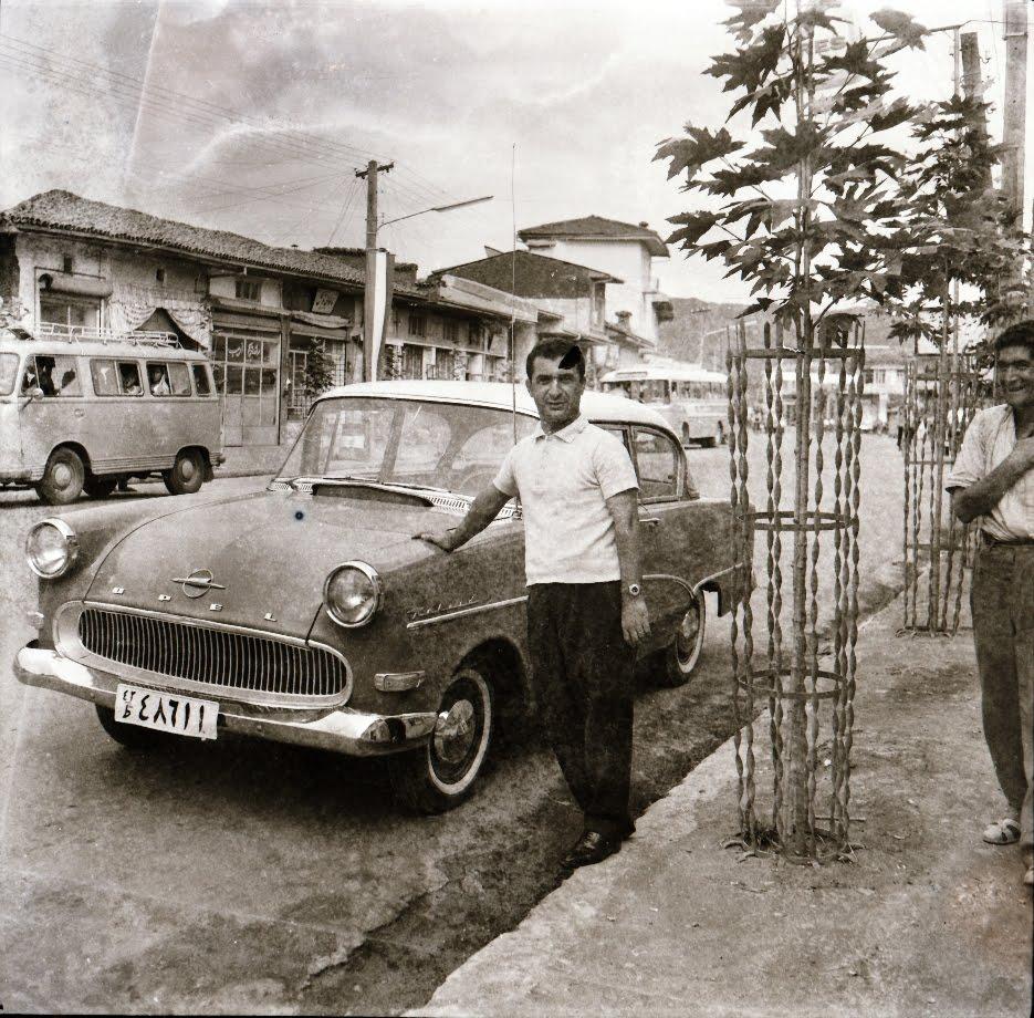 عکس های همایون صفابخش عکاس قدیمی از لاهیجان