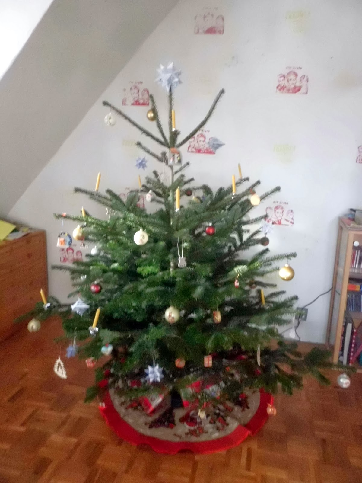 Neues aus der traumwerkstadt dezember 2013 for Tannenbaumspitze stern