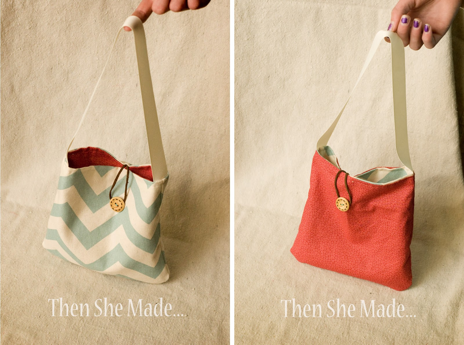 Then she made reversible re usable gift bag tutorial for Sewing projects to make and sell
