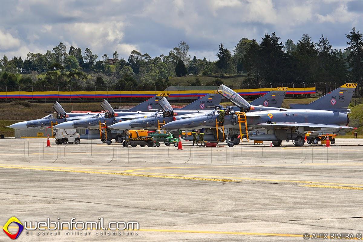 Fuerza Aerea Colombiana kfir