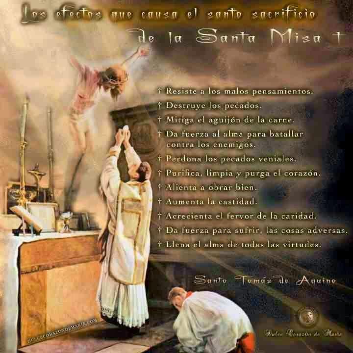 El Santo Sacrificio de la Misa