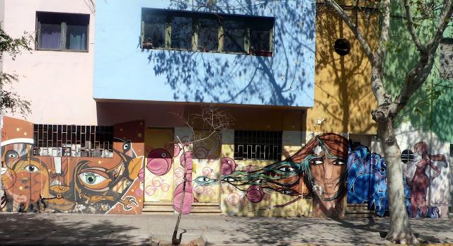 street art santiago de chile patronato bellavista graffiti arte callejero