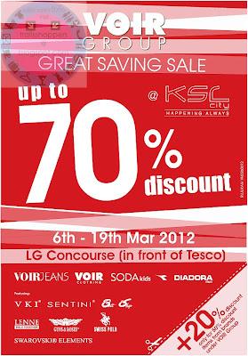 Voir Group Great Savings Sale