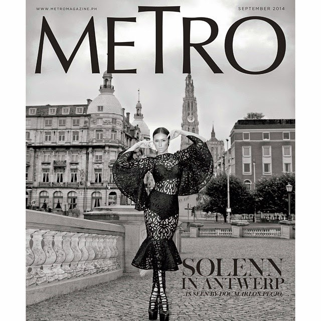 Solenn Heussaff - Metro Sept 2014
