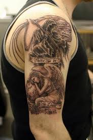 great angel tattoo