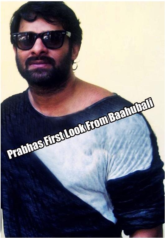 prabhas first look still from bahubali telugu movie