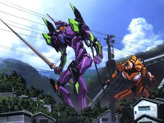 anime manga accion lucha robot