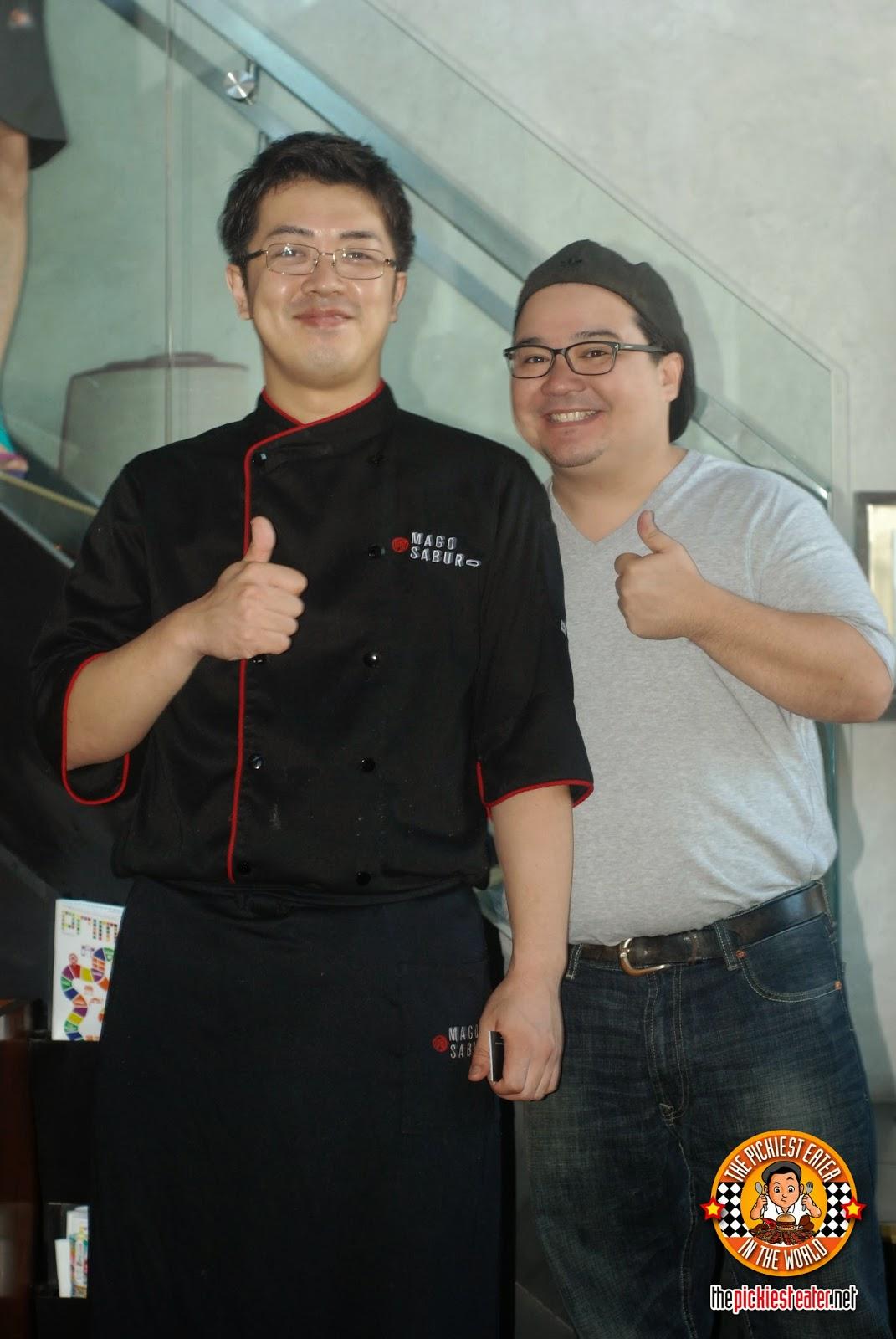 Chef Motomatsu Takashi