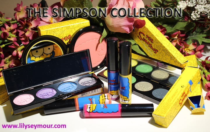 Mac The Simpson Collection Photos & Swatches