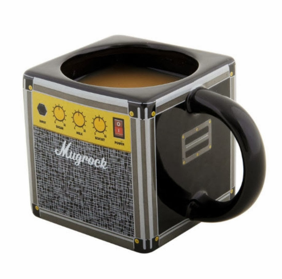 Mugrock  Marshall  Amp Mug   this is perfect for the guitar hero in your  house  Rock on with your mug full   12. kandeej com  23 Cool Gifts For Guys