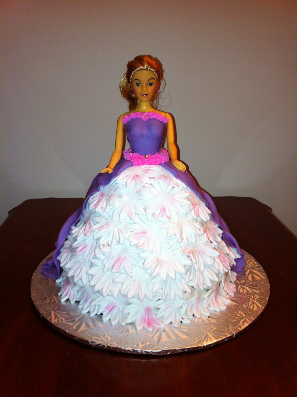 Princess Doll Cake Pictures : Love Dem Goodies: Princess Doll Cake