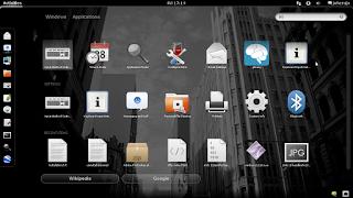 Desktop Gnome 3 saya jo