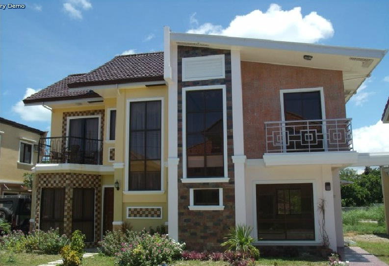custom home designs of royal residence iloilo by pansol realty and development corporation - City Home Design