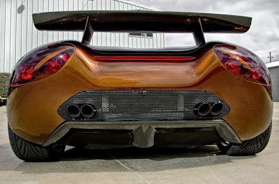 Scorpion o Supercarro do Futuro,carros verdes