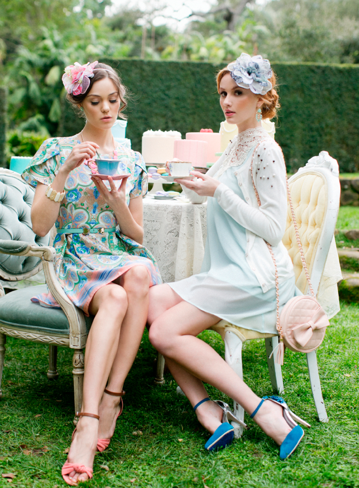 Romantic Spring Tea Party 79 Ideas